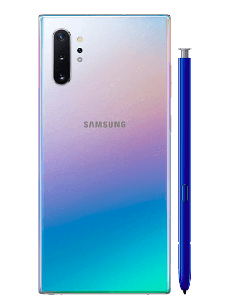Samsung Galaxy Note 10+ colores