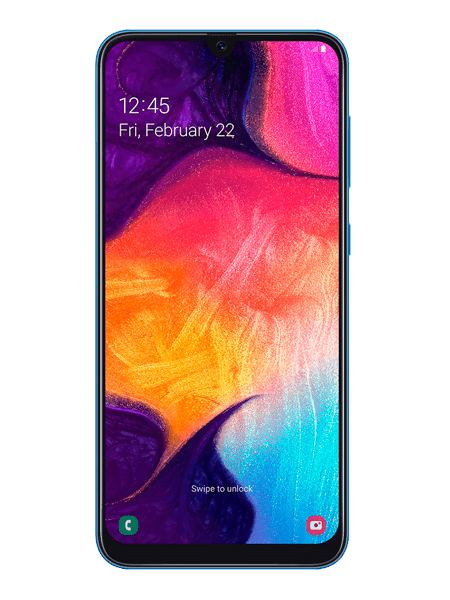 Galaxy A50 precio title=galaxy-a50-frontal