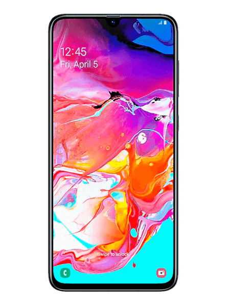 Samsung Galaxy A70 colores title=samsung-galaxy-a70-frontal