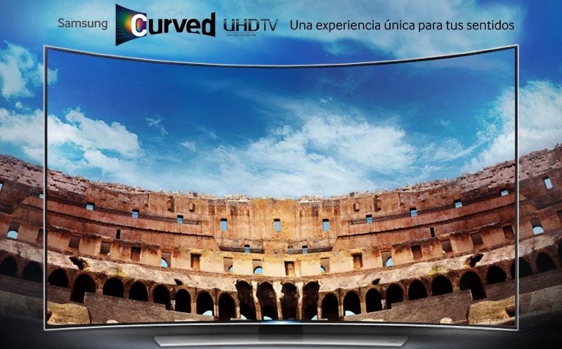 Disfruta de una nueva forma de ver la televisión con las pantallas curvas
