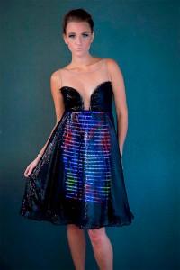 Apúntate a la última moda con el vestido que cambia de color en función del wifi