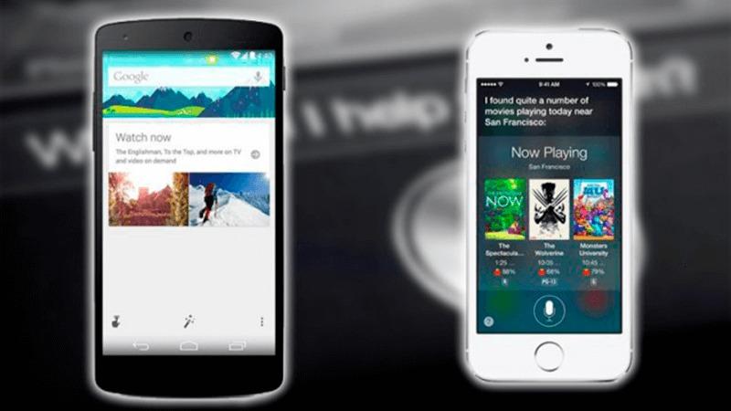 Siri o Google Now, ¿qué asistente virtual triunfa más?
