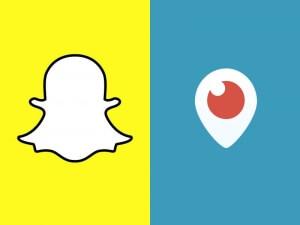 Snapchat y Periscope: las apps de moda en 2016