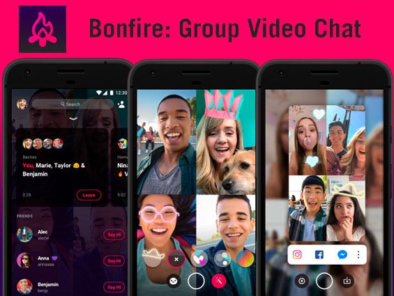 Así es Bonfire: la nueva app de Facebook