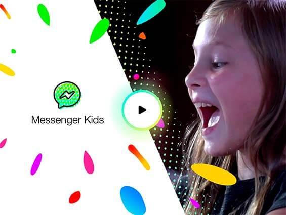 Facebook lanza un servicio de mensajería instantánea para niños