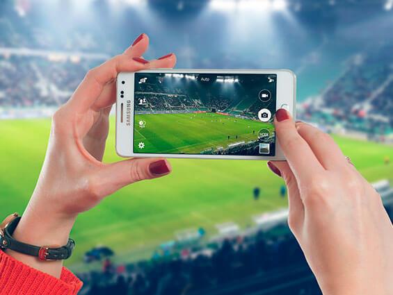 Las mejores apps para ver fútbol online estés donde estés