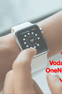 Vodafone One Number eSIM para iWatch