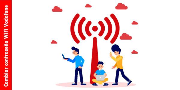 cambiar contraseña wifi vodafone