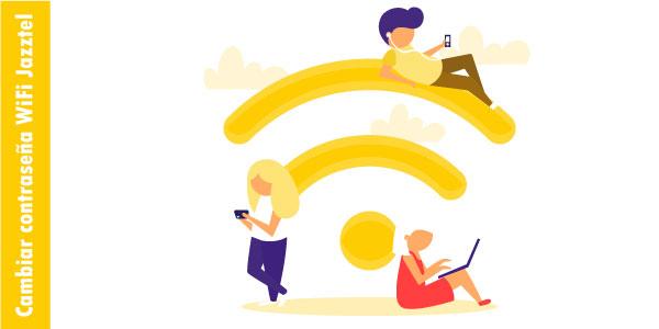 cambiar contraseña wifi jazztel