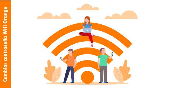 cambiar la contraseña wifi de orange