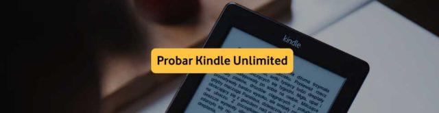 Suscripción Kindle Unlimited